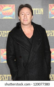 Julian Lennon at the Led Zeppelin Celebration Day DVD screening launch held at Hammersmith Apollo London. 12/10/2012 Picture by: Henry Harris