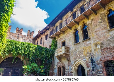 Julias balcony architecture verona history house italy shakespeare