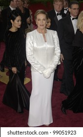 JULIE ANDREWS at the 76th Annual Academy Awards in Hollywood. February 29, 2004