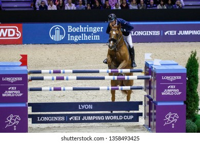 Julien Epaillard FRA riding Usual Suspect d'Auge Longines Grand Prix during the Equita Longines 2018, on October 31th to November 4th , 2018, in Lyon, France