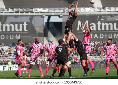 Julien Puricelli of Lyon during the French championship Top 14 rugby union match between Lyon OU and Stade Francais Paris on November 4, 2018 at Gerland stadium in Lyon, France