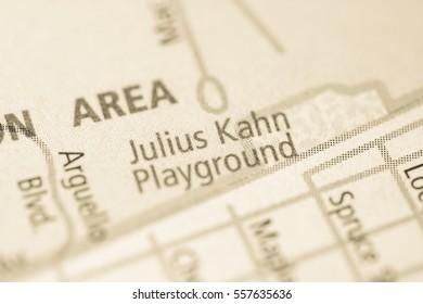 Julius Kahn Playground. California. USA