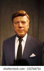 "JULY 10, 2008 - BERLIN: the wax figure of John F. Kennedy - official opening of the waxworks ""Madame Tussauds Berlin, Unter den Linden, Berlin."