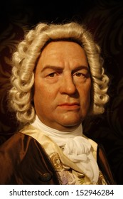 "JULY 10, 2008 - BERLIN: the wax figure of Johann Sebastian Bach - opening of the waxworks ""Madame Tussauds"", Unter den Linden, Berlin."