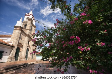 July 12, 2017 Honda, Colombia: the colonial town is listed as one of the elite heritage places of the country