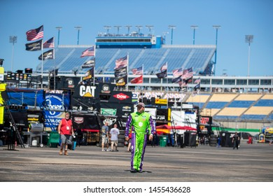July 12, 2019 - Sparta, Kentucky, USA: Ryan Newman (6) gets ready to practice for the Quaker State 400 at Kentucky Speedway in Sparta, Kentucky.