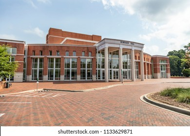 July 13, 2018 - Charlotte, North Carolina, USA: The University of North Carolina at Charlotte, also known as UNC Charlotte, is a public research university located in Charlotte, North Carolina,