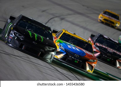 July 13, 2019 - Sparta, Kentucky, USA: Kurt Busch (1) wins the Quaker State 400 at Kentucky Speedway in Sparta, Kentucky.