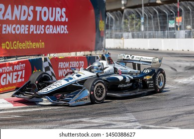 July 13, 2019 - Toronto, Ontario, CAN: SIMON PAGENAUD (22) of France practices for the Hondy Indy Toronto at Streets of Toronto in Toronto, Ontario.