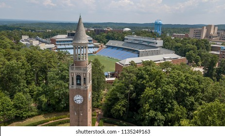 July 15, 2018 - Chapel Hill, North Carolina, USA: Kenan Memorial Stadium is located in Chapel Hill, North Carolina and is the home field of the North Carolina Tar Heels.