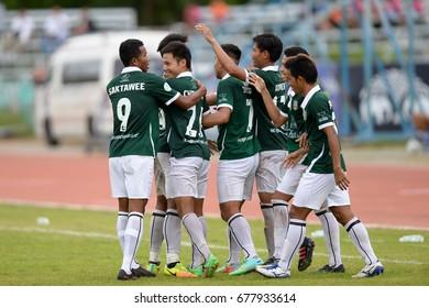 July, 17 2017, Euro Cake Thai League 4, Surin City 2 - 0 Roiet United, Srinarong Stadium, Surin, Thailand.