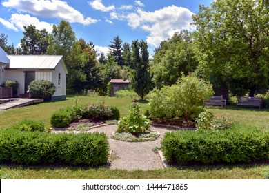 JULY 19, 2016 - LONDON, ONTARIO, CANADA:  FANSHAWE PIONEER VILLAGE IS A POPULAR SUMMER ATTRACTION IN SOUTHWESTERN ONTARIO.  SEVERAL HISTORIC BUILDINGS ARE OPEN TO THE PUBLIC FOR TOURS.