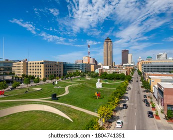 """July 19, 2020 - Des Moines, Iowa, USA: Des Moines is the capital of Iowa. It was incorporated on September 22, 1851, as Fort Des Moines, which was shortened to """"Des Moines"""" in 1857default"""