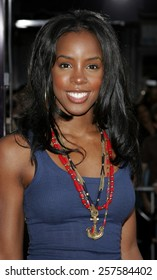 """July 20, 2006. Kelly Rowland attends the World Premiere of """"Miami Vice"""" held at the Manns Village Theater in Westwood, California United States."""