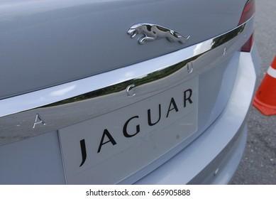 July 2008, Bangkok, Thailand : Test drive JAGUAR XF