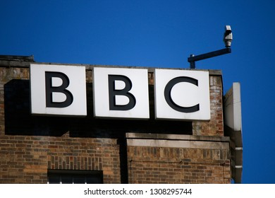 "JULY 2016 - DUBLIN: the logo of the brand ""BBC""."