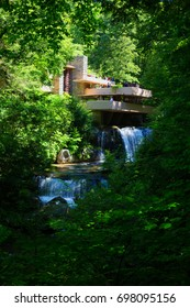 JULY, 2017, Pennsylvania: House designed by Frank Lloyd Wright , for editorial use only