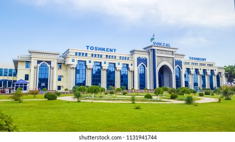 July 2018,Uzbekistan,Tashkent,The Tashkent-passenger railway station (the same Northern, Tashkent-Central) is one of the first railway stations in Uzbekistan, which is located in its capital.