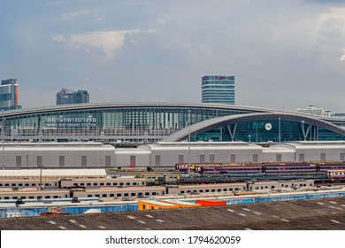 July 2020,Bangsue railway station.New Bangkok railway station almost done now under construction