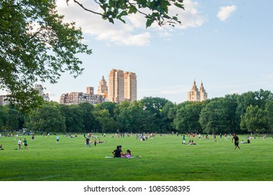 July 21 2017, Sheep Meadow at Central Park in Manhattan, New York city