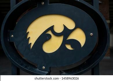 July 21, 2019 - Iowa City, Iowa, USA: Kinnick Stadium is the stadium of the University of Iowa Hawkeyes.