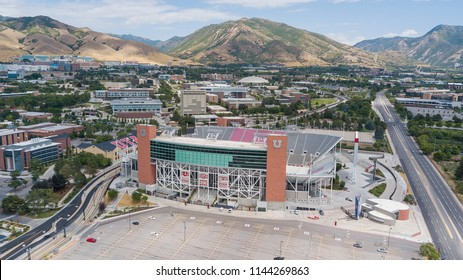 July 22, 2018 - Salt Lake City, Utah, USA: RiceEccles Stadium is an outdoor college football stadium in the western United States, located on the campus of the University of Utah in Salt Lake City, Ut