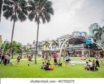 July 24, 2016  high street at fort bonifacio , manila , Philippines