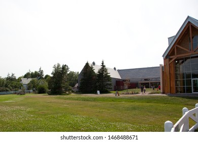 July 27, 2019- Cavendish, PEI: the newly renovated interpretive and information centre at Green Gables Place