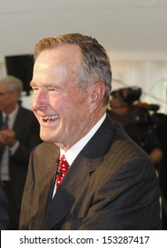 JULY 3, 2008 - BERLIN: George Bush (senior) at the award ceremony for the Henry Kissinger Prize at the American Academy in Berlin.