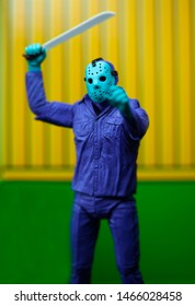 JULY 30 2019:  Retro NECA Friday the 13th - 7 inch Scale Figure - NES Jason Voorhees Classic 1989 Video Game colors