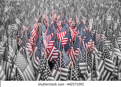 July 4 flags