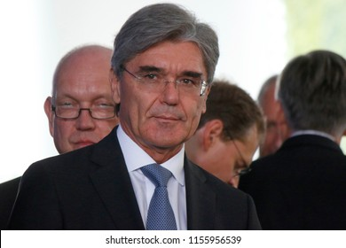 JULY 5, 2017 - BERLIN: Joe Kaeser (CEO of Siemens) at a meeting of the Chancellor with the Chinese president, Chanclery.