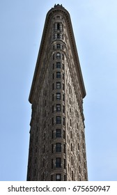 July 5, 2017; Manhattan, New York, USA: The front of the iconic Flatiron Building in downtown Manhattan.