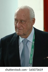 JULY 7, 2006 - BERLIN: Joao Havelange at a reception for members of the FIFA executive committee in the Chanclery in Berlin.