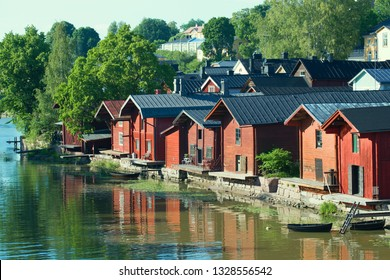 July day in old Porvoo. Finland