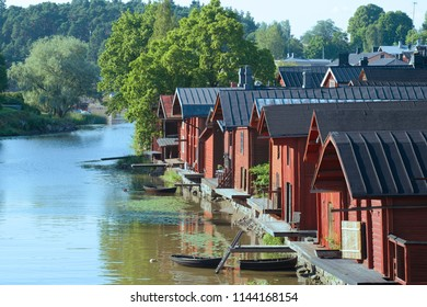 July in the old town. Porvoo, Finland