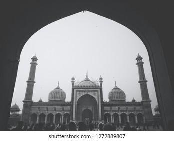Juma mazjid in old Delhi