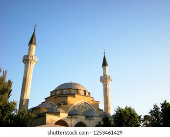 Juma-Jami Cathedral Friday Mosque in Evpatoria, the main mosque of the city. It was founded in 1552. July 2015