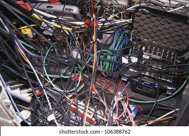 Jumble of wires