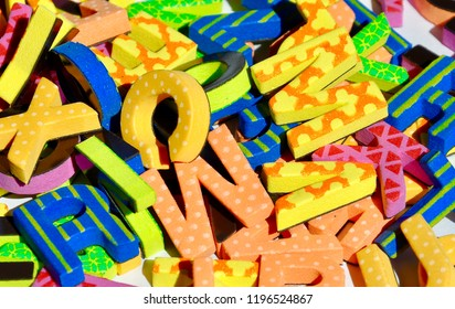 Jumbled letters backgrounds