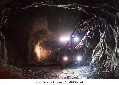 Jumbo Drill Underground Mine