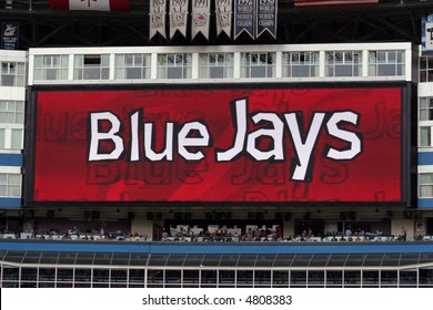 Jumbotron, Rogers Centre, home of the Toronto Blue Jays