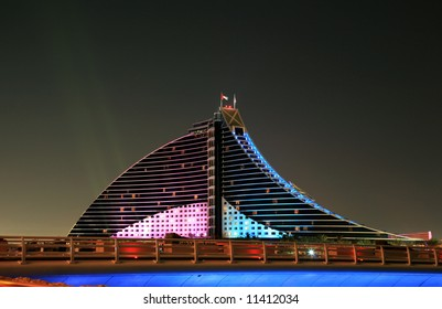 Jumeirah Beach Hotel Nightview