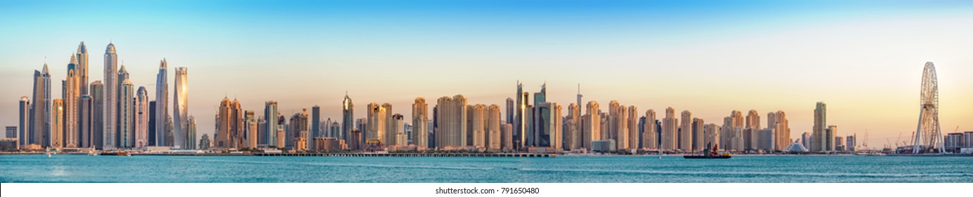 Jumeirah Beach Resort Panorama, JBR & Marina, Dubai, Emirates, Jan.2018