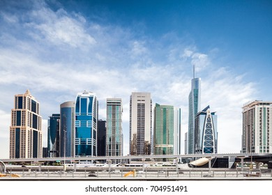 Jumeirah Lake towers Dubai skyline