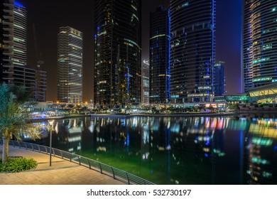 Jumeirah Lakes in Dubai