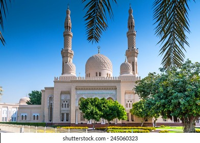 Jumeirah Mosque is a mosque in Dubai City. It is said that it is the most photographed mosque in all of Dubai. Organized tours are available for non-Muslims.