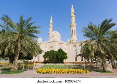Jumeirah Mosque in Dubai, United Arab Emirates.