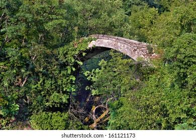 """Jump of deer"" bridge on Garska river from Macedonia"