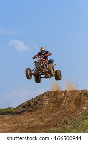 Jump on the ATV - extreme sports